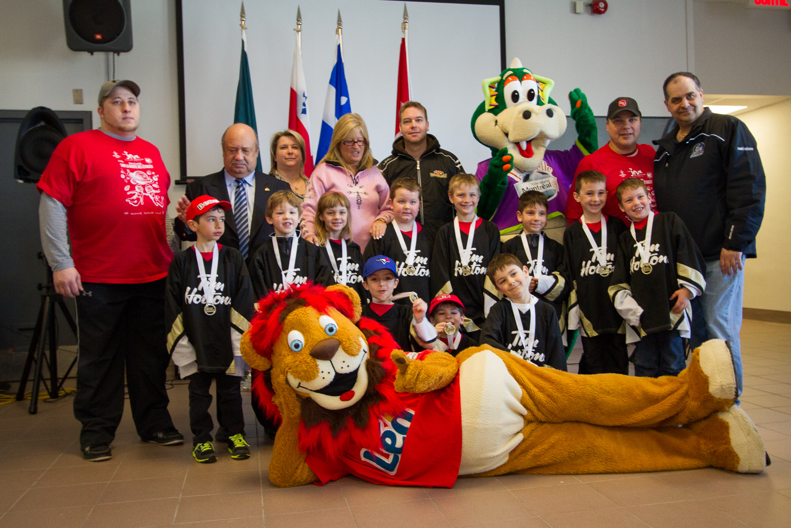 Pierrefonds Hockey wins Gold at Jeux  de Montreal (6)